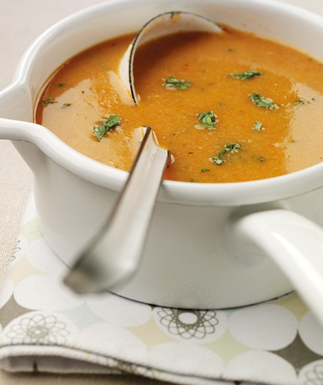 Fresh Tomato & Wholemeal Bread Soup Recipe