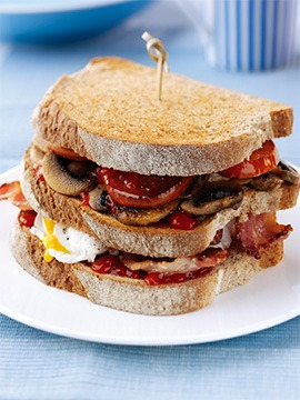 Triple Breakfast Stack Recipe