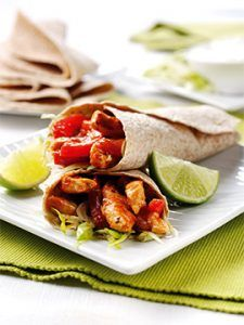 Wholemeal Chicken Tortilla Wraps