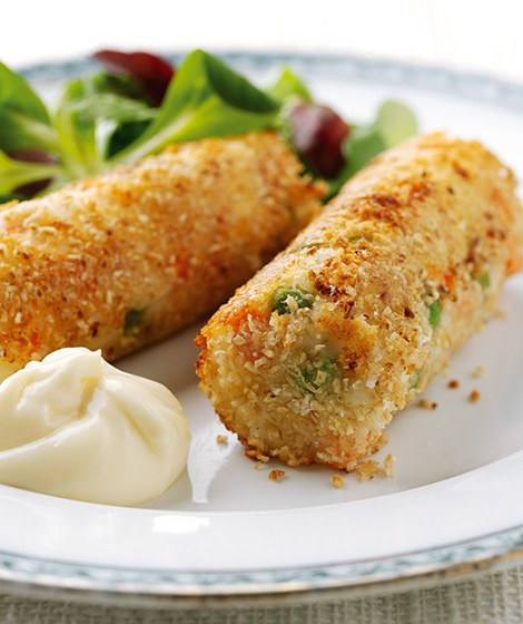 Vegetable & Cottage Cheese Croquettes