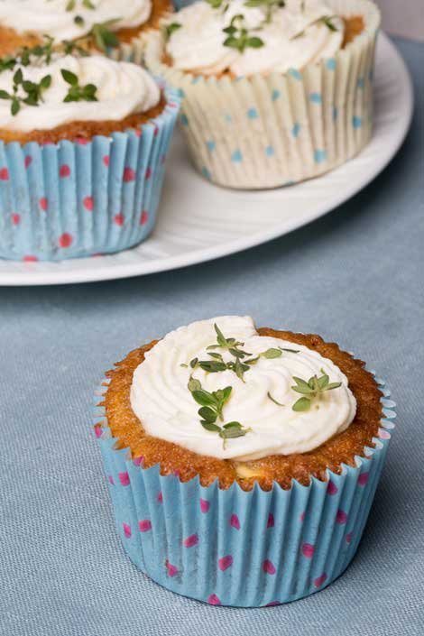 Dean Edwards Spiced Parsnip Cupcakes