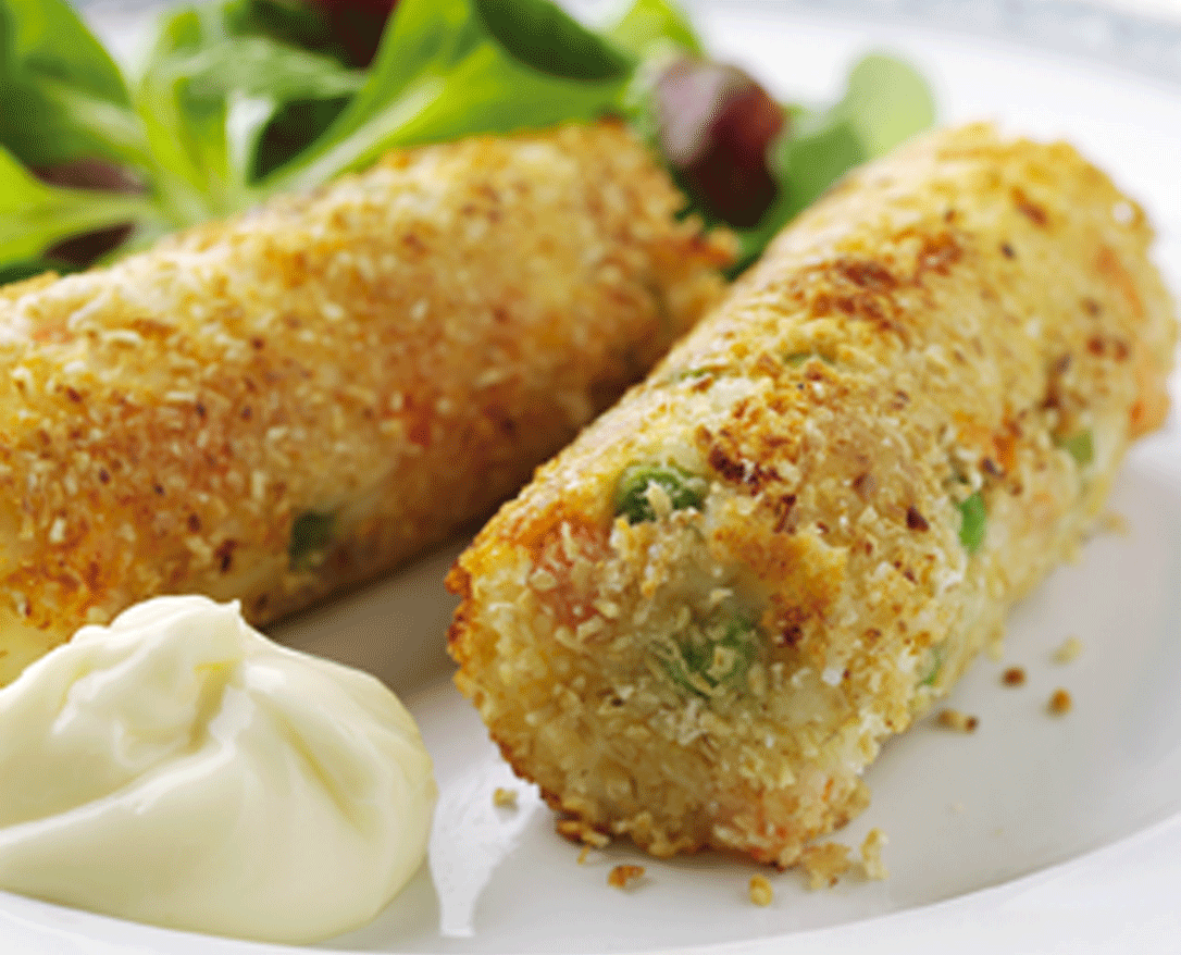 Vegetarian Recipes: Vegetable Croquettes